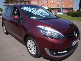 13 RENAULT SCENIC GRAND DYNAMIQUE TOMTOM ENERGY DCI S-S 7 SEATER 20 A YEAR ROAD