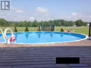Above Ground Pool - 27ft Round