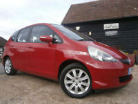 0606 HONDA JAZZ 1.4i-DSI AUTOMATIC SE 1 OWNER FROM NEW 78K FSH 11 SERVICE STAMPS