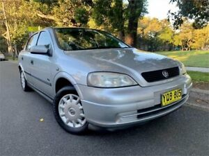2003 Holden Astra TS City Silver 4 Speed Automatic Sedan Strathfield Strathfield Area Preview