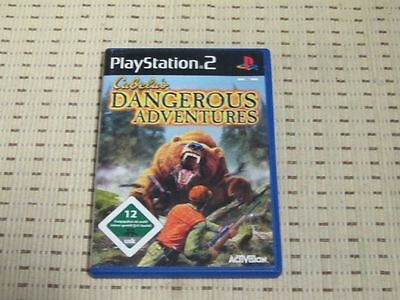 Cabela´s Dangerous Adventures für Playstation 2 PS2 PS 2 *OVP*