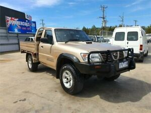 1999 Nissan Patrol GU ST (4x4) Gold 5 Speed Manual 4x4 Coil Cab Chassis Lilydale Yarra Ranges Preview