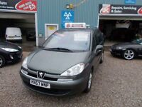PEUGEOT 807 2.0 SE 5d AUTO 139 BHP 7 seater 12 month mot and (grey) 2007
