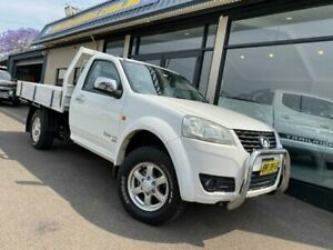 2012 Great Wall V200 K2 MY12 White 6 Speed Manual Cab Chassis West Tamworth Tamworth City Preview