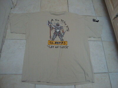 A Co 101st DSTB Slayers Army Navy Military Slayer Air Force New NOS T Shirt XL