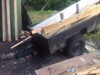 Sankey wide track trailer plus timber cladding