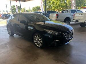 2015 Mazda 3 BM5438 SP25 SKYACTIV-Drive Black 6 Speed Sports Automatic Hatchback Menzies Mt Isa City Preview
