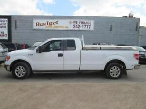 2011 Ford F150 XLT 4x4 Long Box with Work Boxes