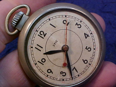 RARE Ingersoll Spic sweep second dollar watch pocket watch