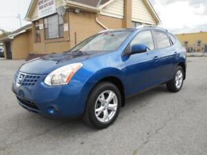 2008 NISSAN Rogue SL AWD 2.5L Automatic Leather Sunroof 155,000K