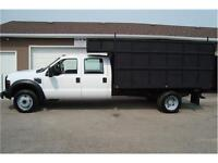 2008 FORD F-450 DRW XL DECK BOX 2-WD V-10 ONLY 113K ONLY 12,500.