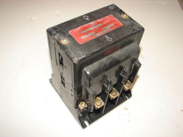 WARD LEONARD 5DP1-5051-11 CONTACTOR 30A 500VDC ***XLNT***
