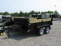 Dump Trailer - 3.5 ton Advantage Dump with Roller Kit and Tarp
