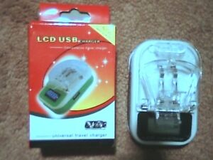 Universal & Portable cell phone charger 2500mAh