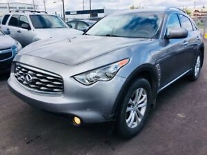 2009 INFINITI FX35 AWD, LEATHER HEATED & AC SEATS, SUNROOF, ONE