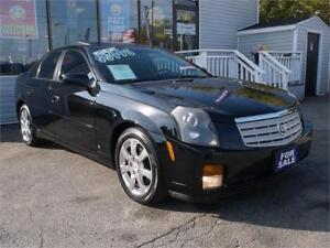 2007 CADILLAC CTS * SUNROOF * LEATHER * REMOTE START * LOADED !!