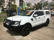 2014 Ford Ranger PX XLS White Sports Automatic Utility Cabramatta Fairfield Area Preview