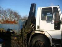 Hiab Lorry Crane