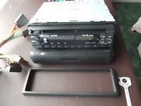 KENWOOD KDC-3090R CAR STEREO CD RADIO PLAYER WITH CAGE AND WIRING etc.see below