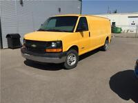 2006 Chevrolet Express Cargo 2500 Van EXTENTED INSULATED DIVIDED