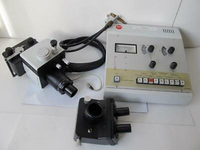 Leitz Vario-orthomat Microscope Camera Outfit Pls Read