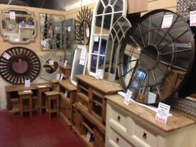 Hundreds of New mirrors small large and massive 1 ft - 8 ft from £5 - £499 view & take home today