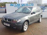 BMW X3 2.0 I 5d 148 BHP (green) 2005