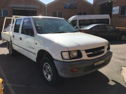 2000 Holden Rodeo TFR9 LX White 4 Speed Automatic Crew Cab P/Up