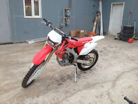 CRF450X w/ Big Gun Exhaust