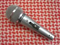Shure 588SB Microphone, Vintage 1970's, Antique, On/Off Switch