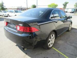 2005 Acura TSX Premium,CERTIFIED/ black on black