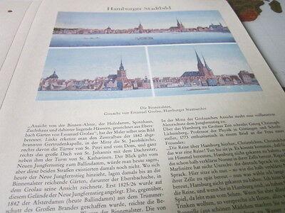 Hamburg Archiv 1 Stadtbild 1059 Die Binenalster EMANUEL gROLAU