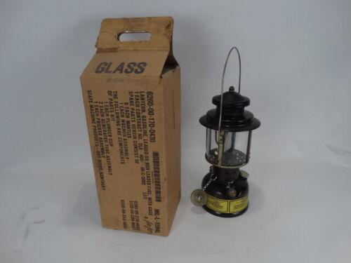 US Military SMP 1986 Gasoline Lantern USED (w/ spare wrench) w/Storage Box