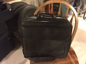 Leather Computer Travel Bag