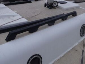 RECYCLED PLASTIC TRIMS/RAILINGS FOR SAILBOATS
