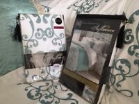 Laurence Llewelyn-Bowen Chateau Embellished Duvet Set. 2 x Double bed 1 x King size and throw.