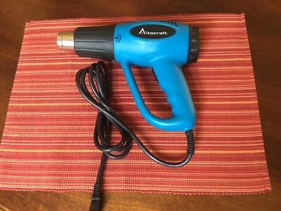 Altocraft1500 Watt Dual Temp Heat Gun Htg142 Used