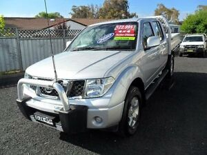 2010 Nissan Navara D40 ST Silver Manual Utility Mudgee Mudgee Area Preview