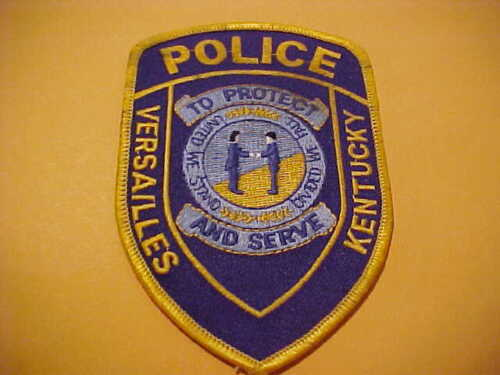 VERSAILLES KENTUCKY POLICE PATCH  SHOULDER SIZE