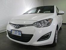 2015 Hyundai i20 PB MY14 Active Polar White 4 Speed Automatic Hatchback Invermay Launceston Area Preview