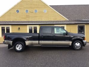 2001 FORD F350 CREW DUALLY-7.3L- 162,000KM