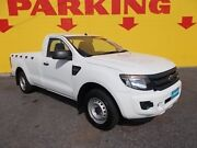 2012 Ford Ranger PX XL 4x2 White 6 Speed Manual Cab Chassis Winnellie Darwin City Preview