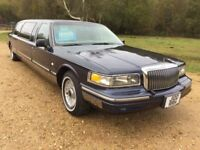 Lincoln Town Car 4.6 4dr (blue) 1997