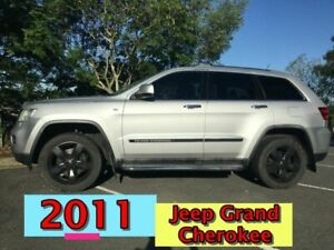 2010 Jeep Grand Cherokee WK MY2011 Limited Silver 5 Speed Sports Automatic Wagon