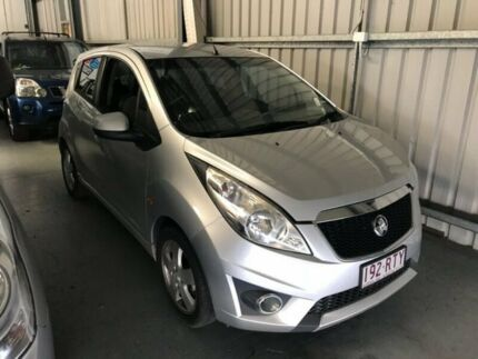 2010 Holden Barina Spark MJ MY11 CDX Silver 5 Speed Manual Hatchback Molendinar Gold Coast City Preview