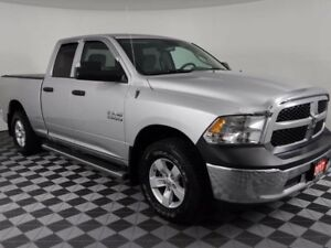 2017 Ram 1500 SXT V6 w/REAR CAMERA, CHROME STEPS, TRI-FOLD TONNE