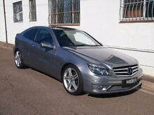 2010 Mercedes-Benz CLC200 Kompressor CL203 Evolution Palladium Silver 5 Speed Automatic Coupe Petersham Marrickville Area Preview
