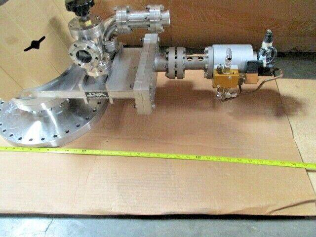 VAT High Vacuum Gate Valve, Isolation, Flange, Vacuum Gauge Sensor Head, 100841