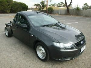 2009 Ford Falcon FG Grey 5 Speed Auto Seq Sportshift Cab Chassis Maidstone Maribyrnong Area Preview