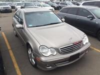2007 Mercedes C 280-4 MATIC-ROOF-CERTIFIED & E TESTED-FINANCING